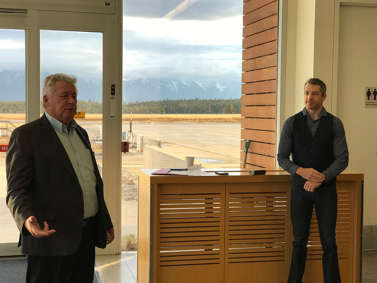 Cranbrook Mayor and Cranbrook Airport Manager