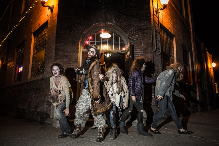 Annual Zombie Walk and After Party at The Royal