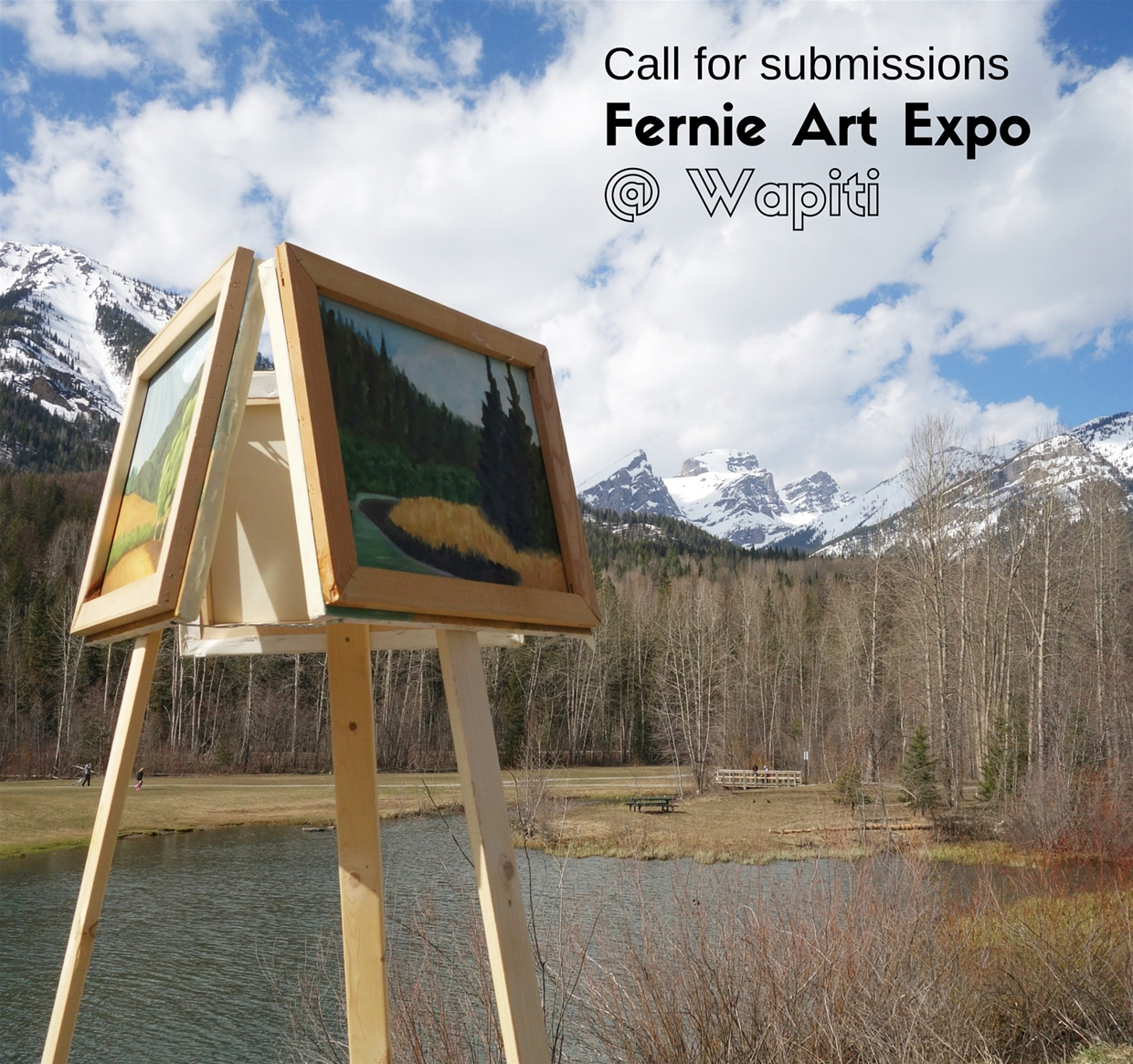 Art Expo at Wapiti Festival 2016