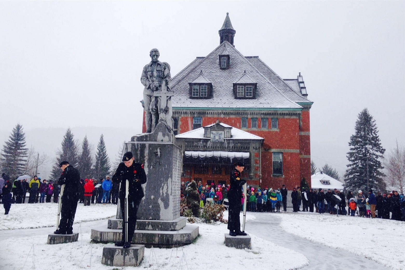 Remembrance Day  in Fernie