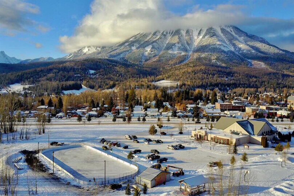 Outdoor Rink at Fernie Aquatic Centre