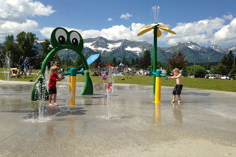 Outdoor Spray Park