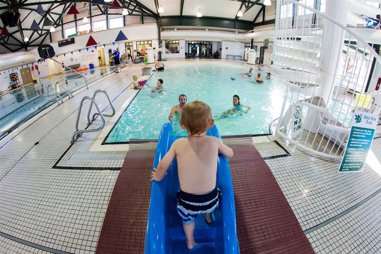 Aquatic Centre pool area for all ages