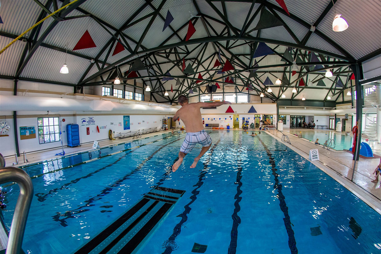 Aquatic Centre diving board