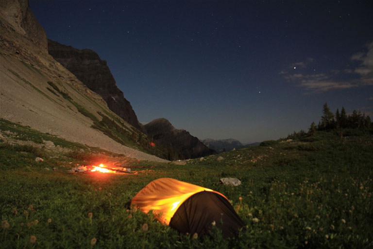 Camping on the Heiko's Trail