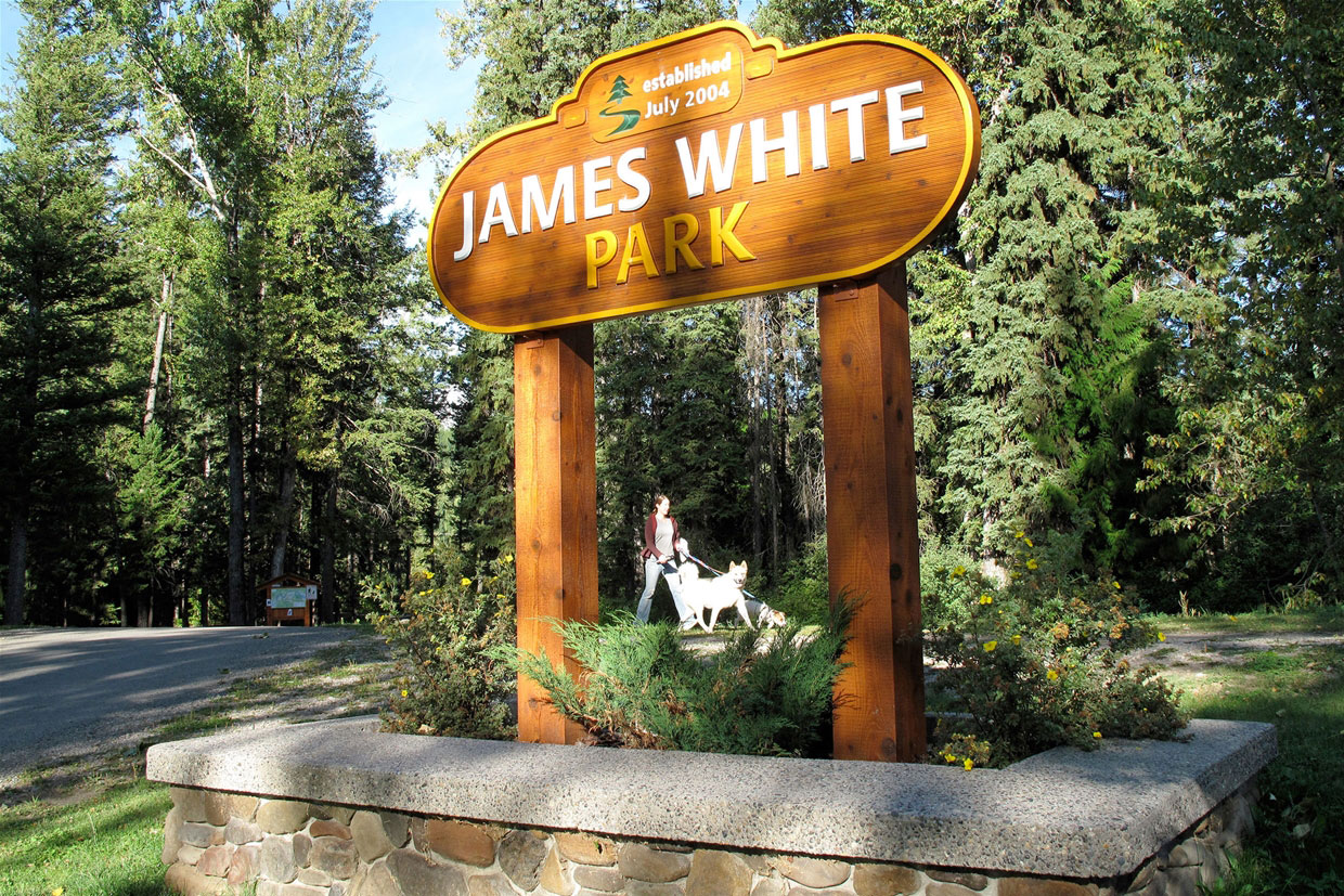 James White Park established 2004