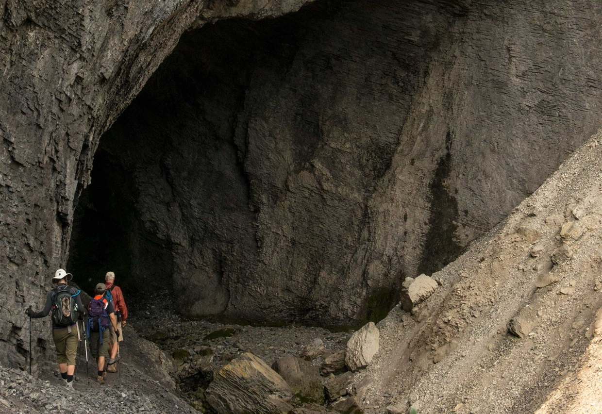Mountain Lakes - Heiko's Trail - Bisaro Cave