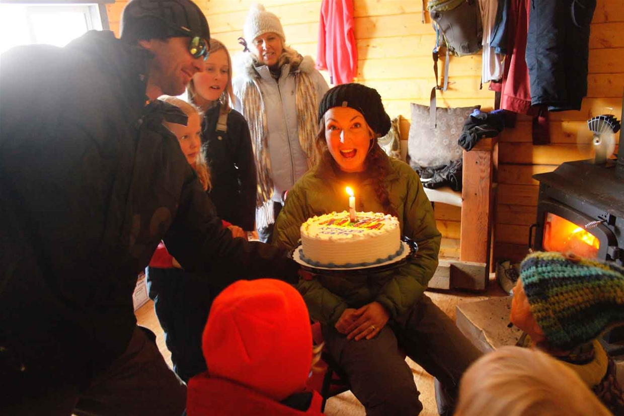 Birthday at Montane Cabin
