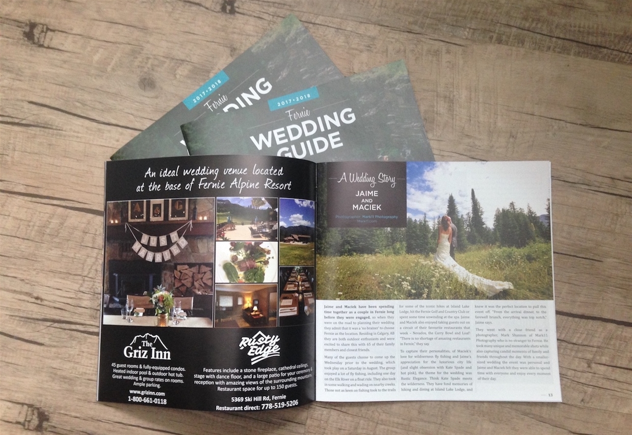 Fernie Wedding Guide