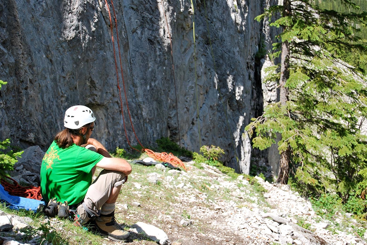 Guided rock climbing tours and clinics with OCD Adventures
