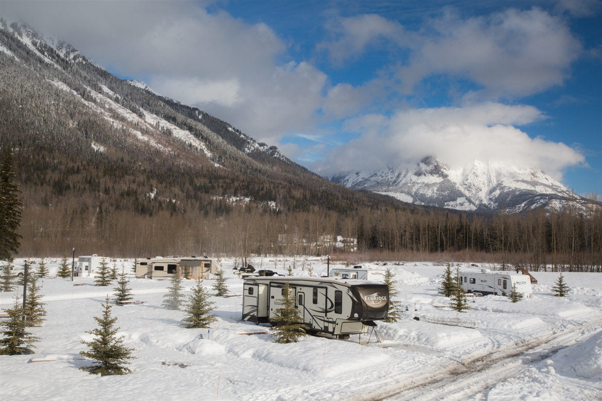 Winter Camp in your RV
