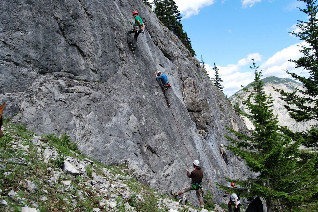 Rock Climbing in the Crowsnest Pass