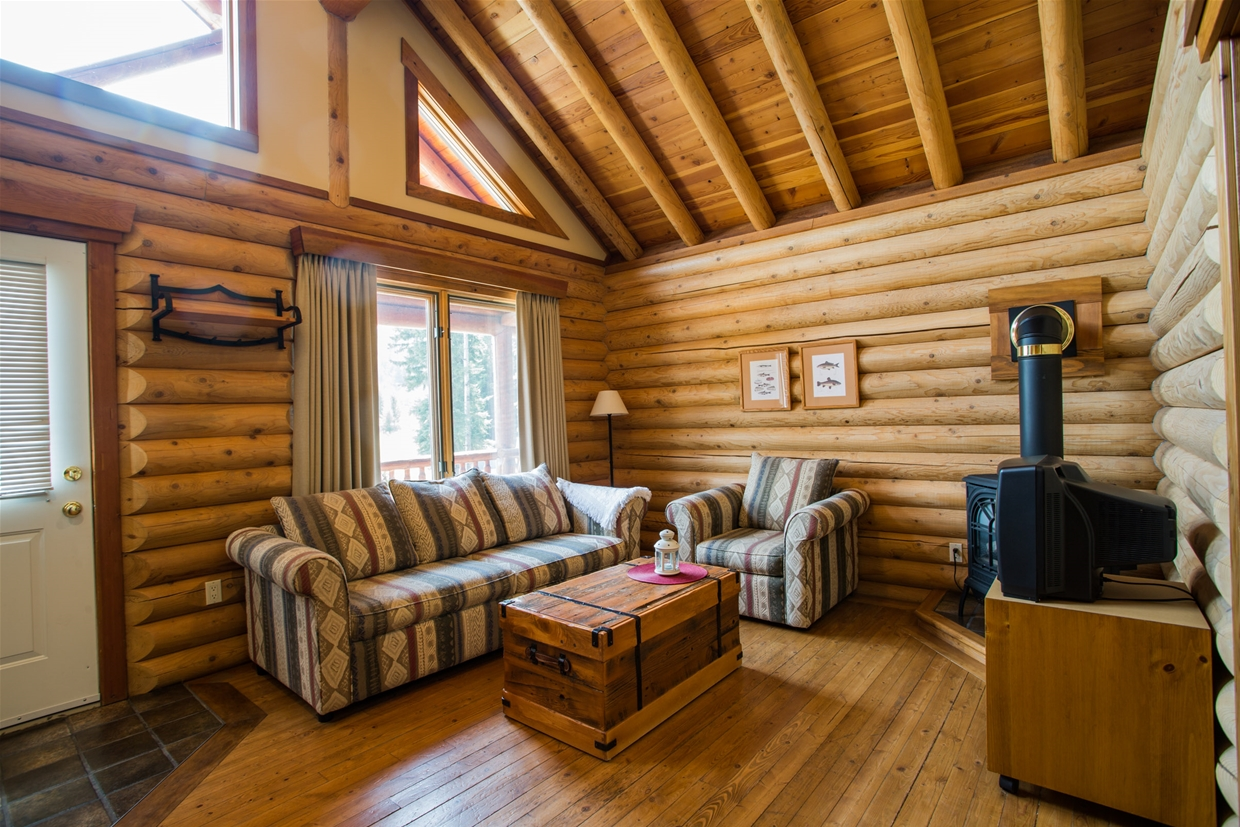 Stay in our log chalet