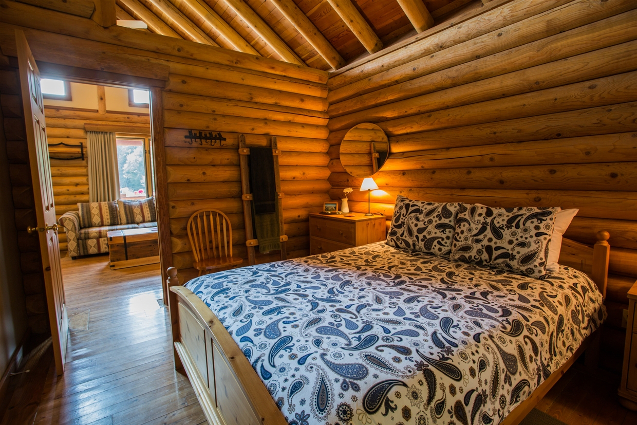 Sleep well in our log chalet