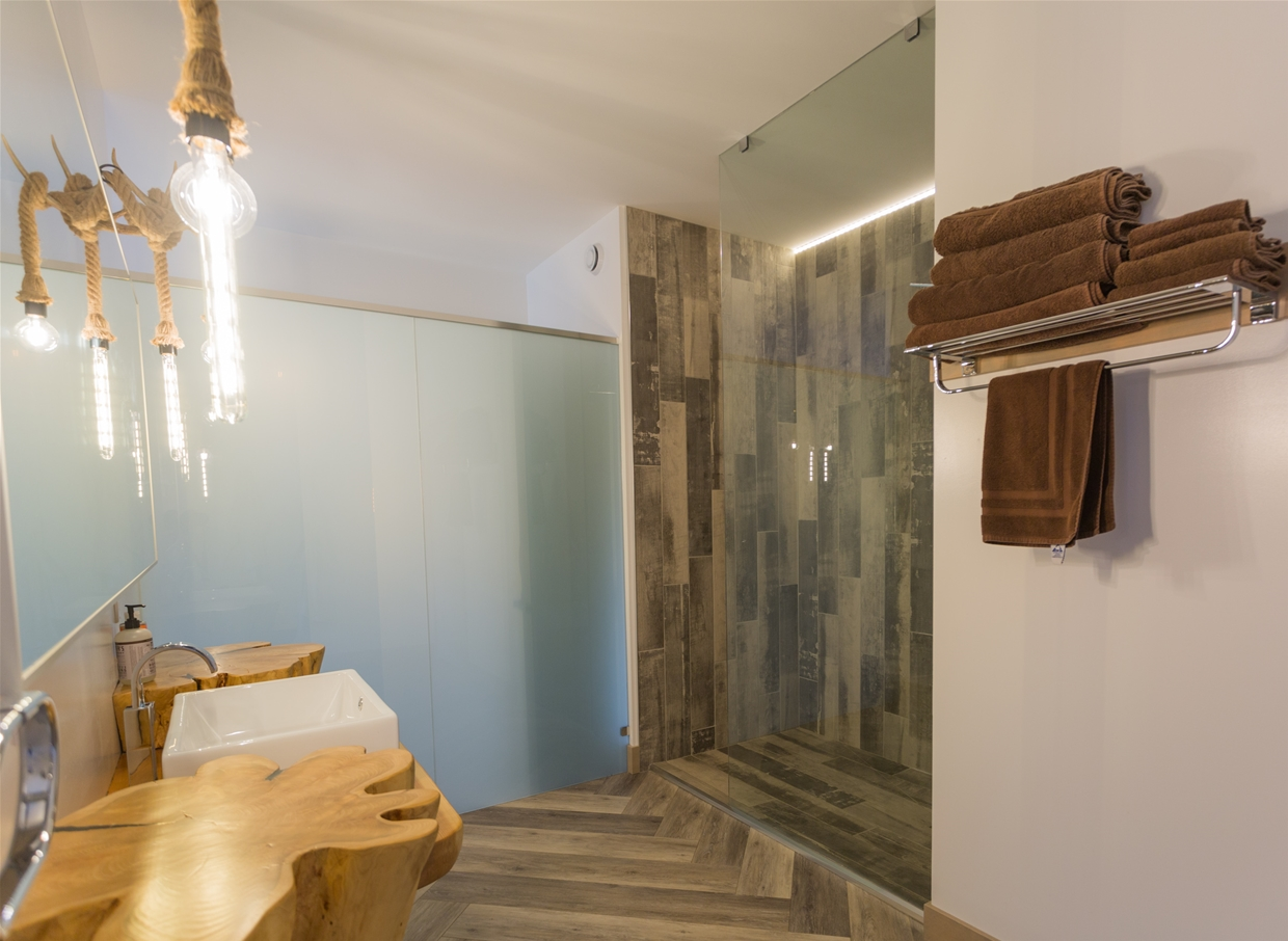 Ensuite with walk-in shower