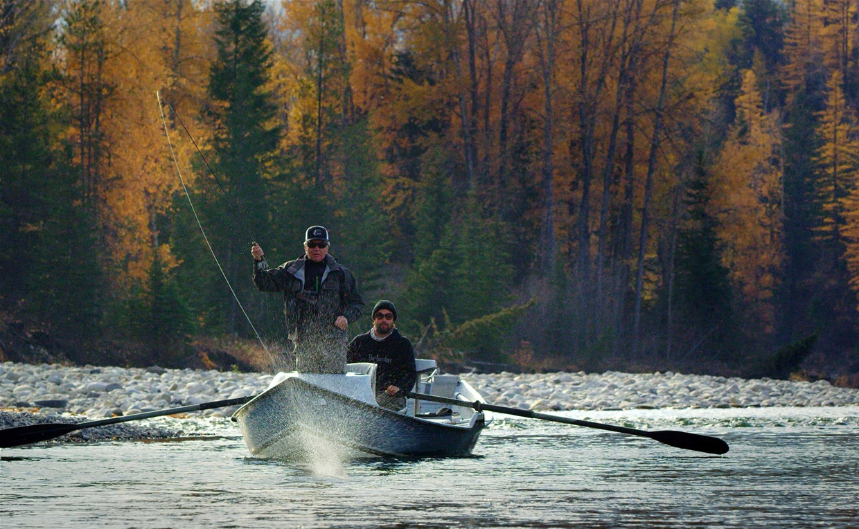 Fall dry fly fishing with Kootenay Guiding Co & Fly Shop