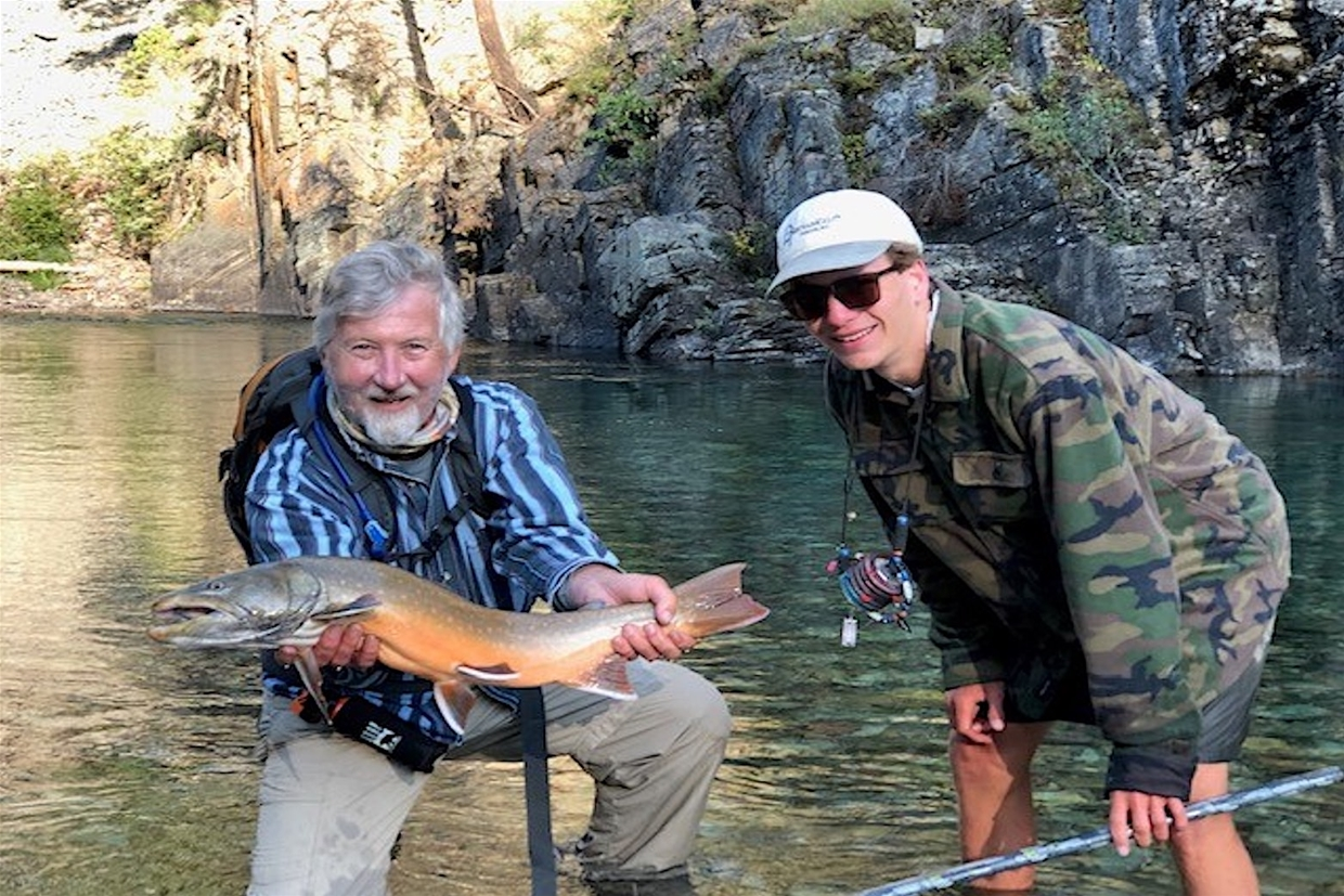 Expert guiding services with Kootenay Fly Shop & Guiding Co.