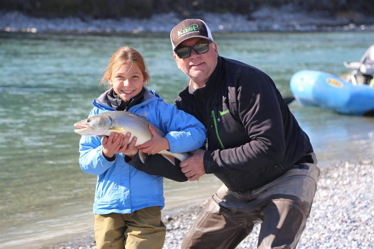 Fly fishing for the whole family!
