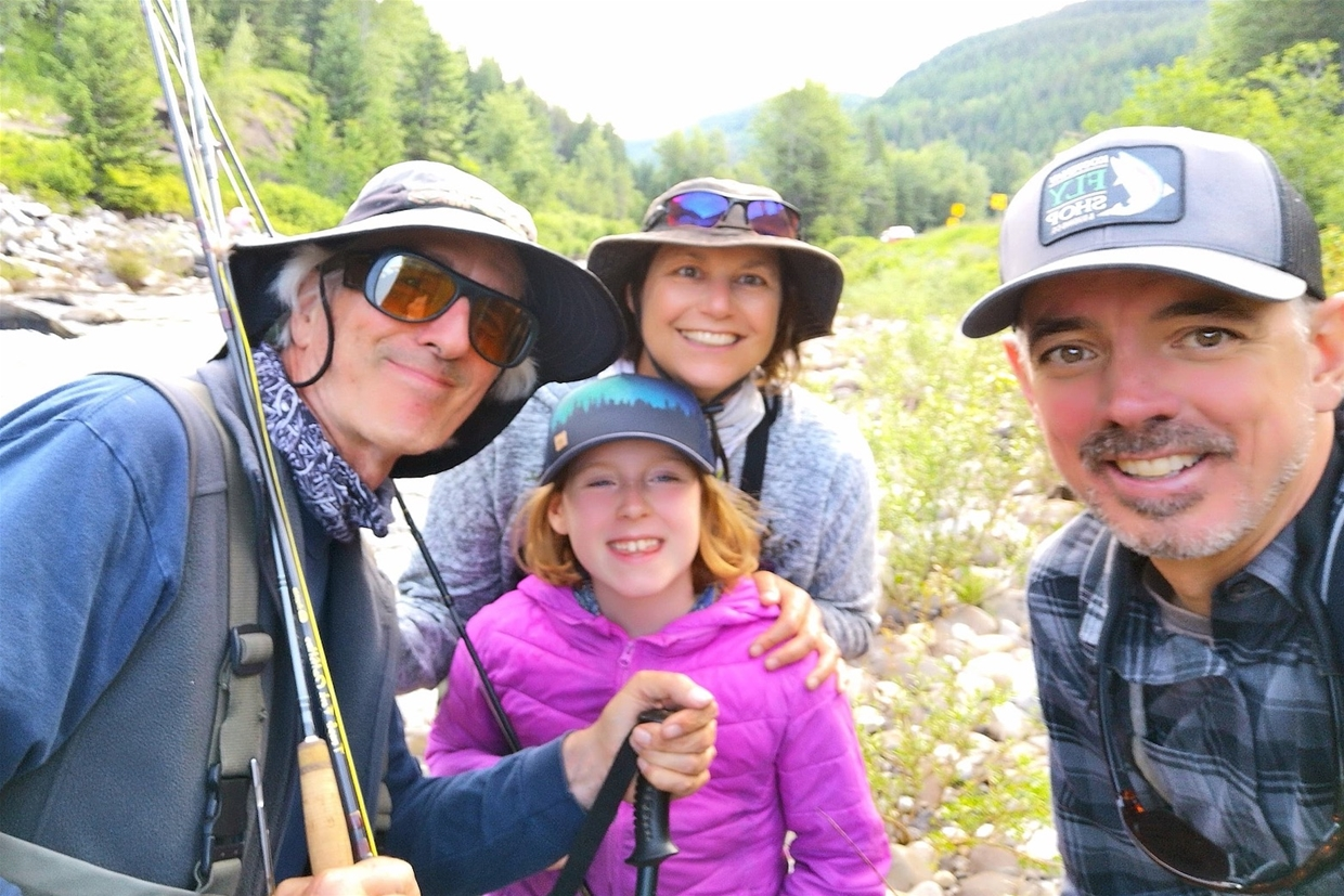 Family fly fishing adventures