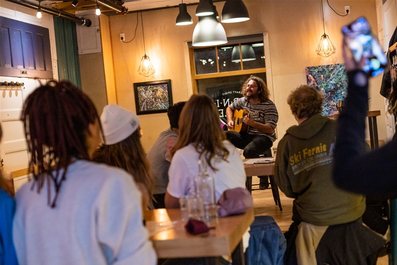 Open Mic Nights every Thursday at Fernie Distillers