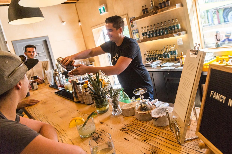 Tasting session at Fernie Distillers
