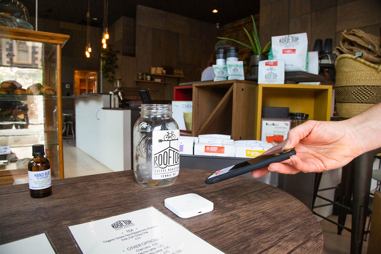 Technology helps with contactless payments