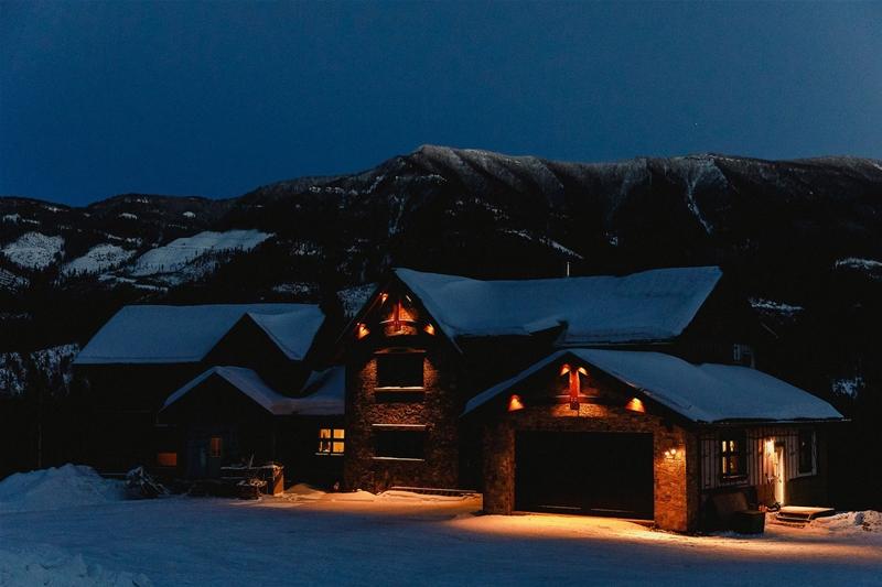 Brooks Creek Ranch in Winter