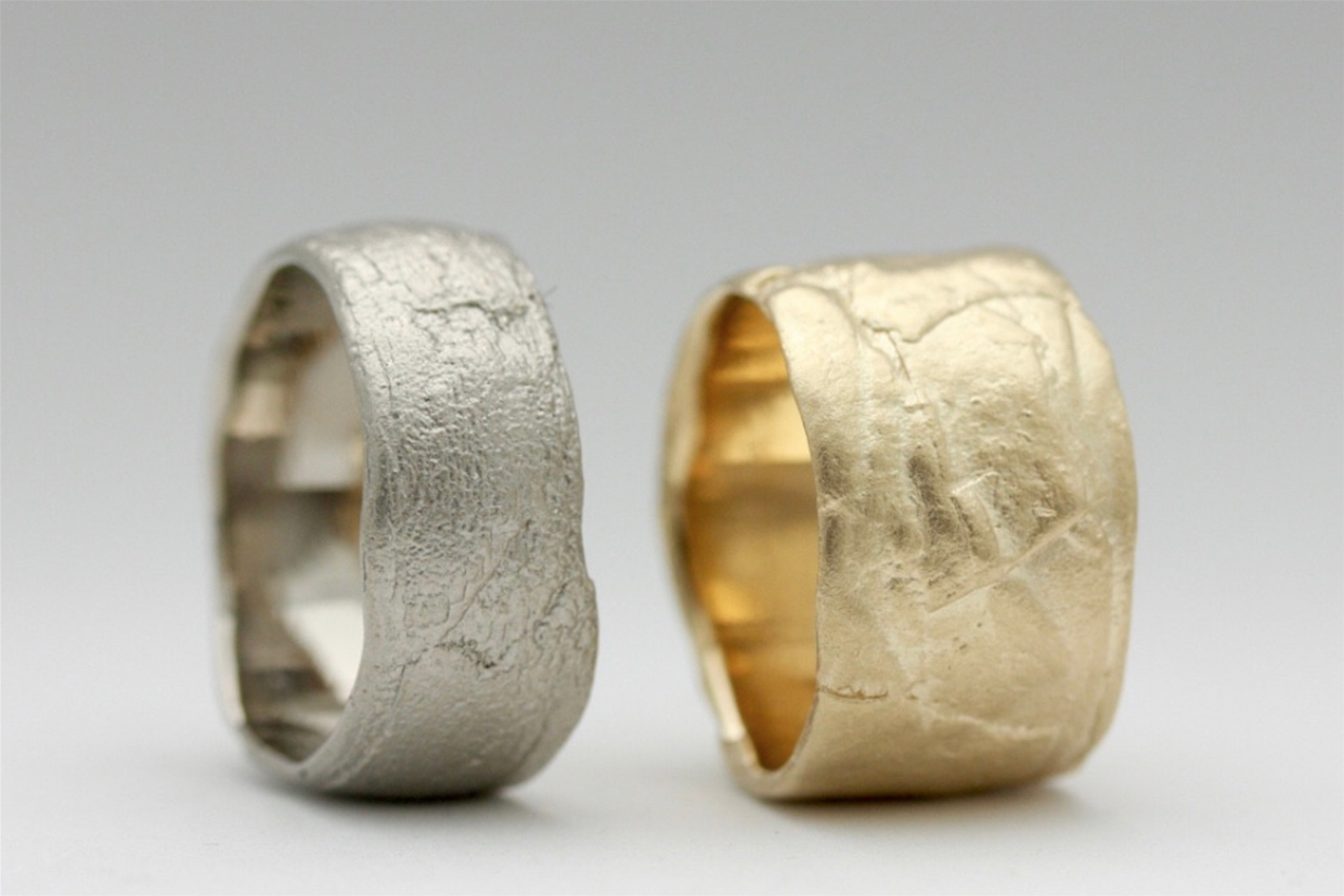 Handcrafted bespoke and showcase wedding bands