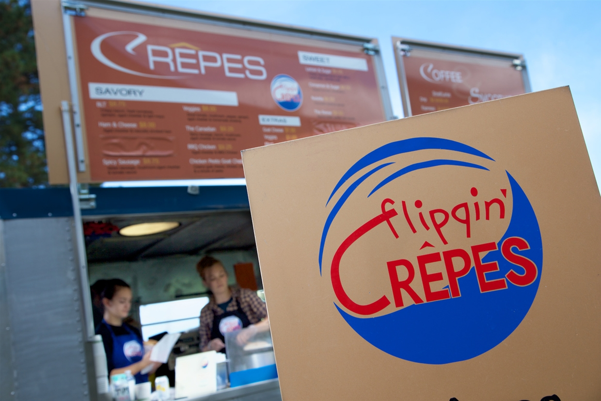 Flippin' Crepes Food Truck