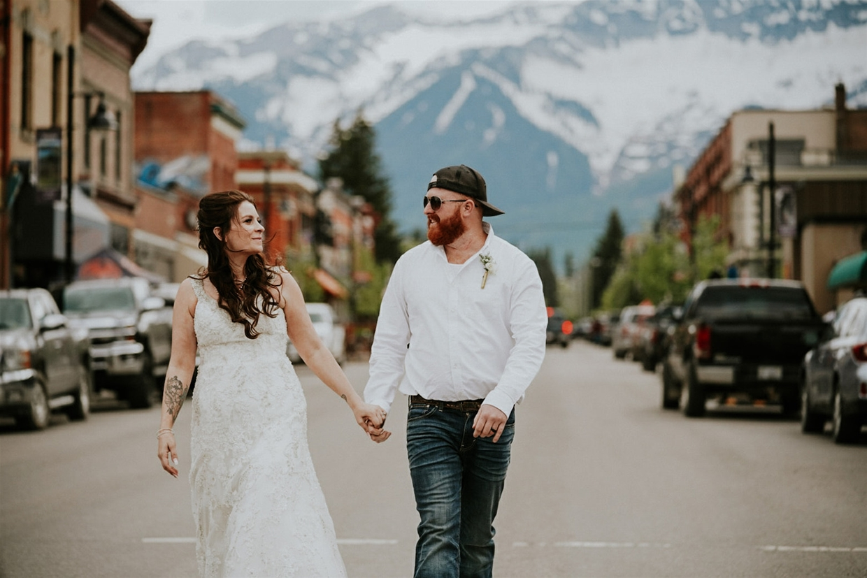Wedding photography in Fernie, BC