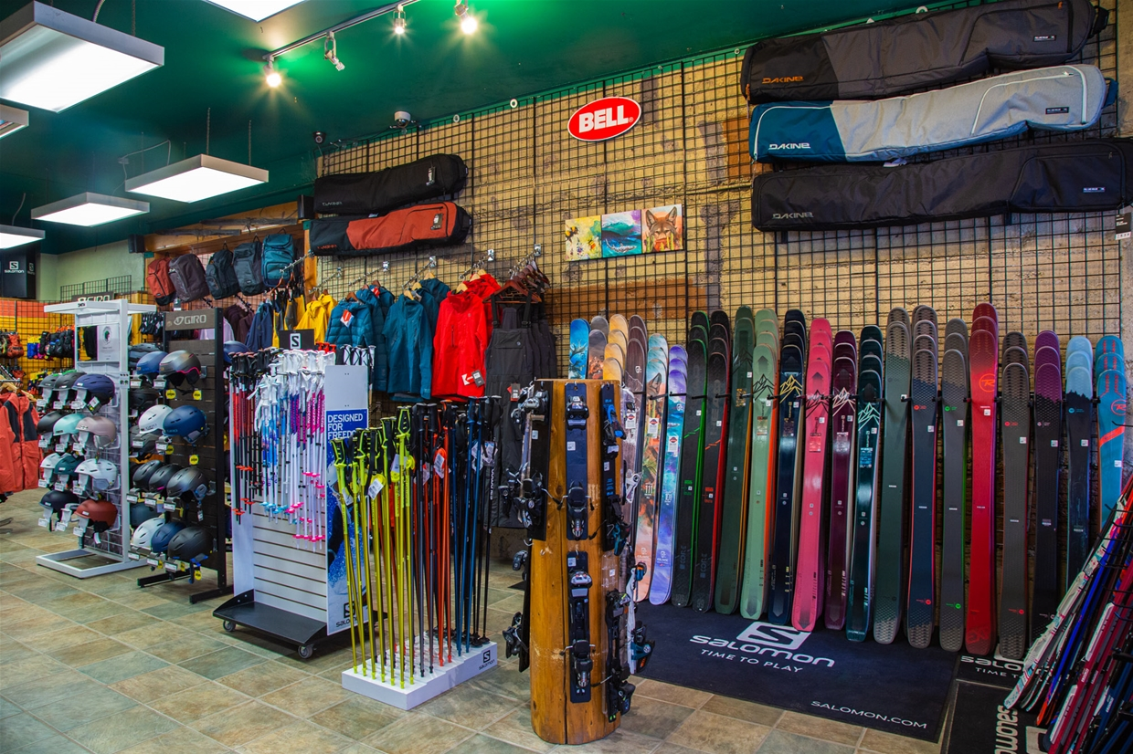 Latest winter gear and apparel at Ski Base