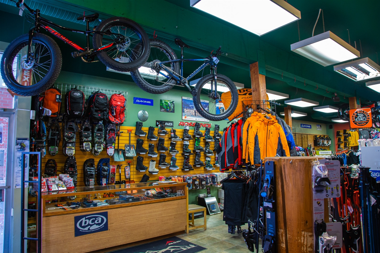 Ski Base stock all winter gear from fatbikes, snowshoe, ski and boards