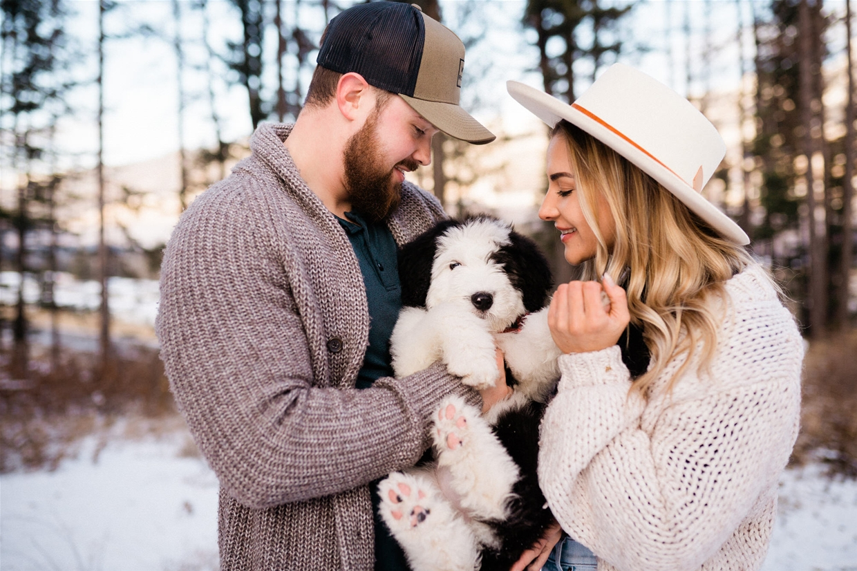 Fernie engagement photography