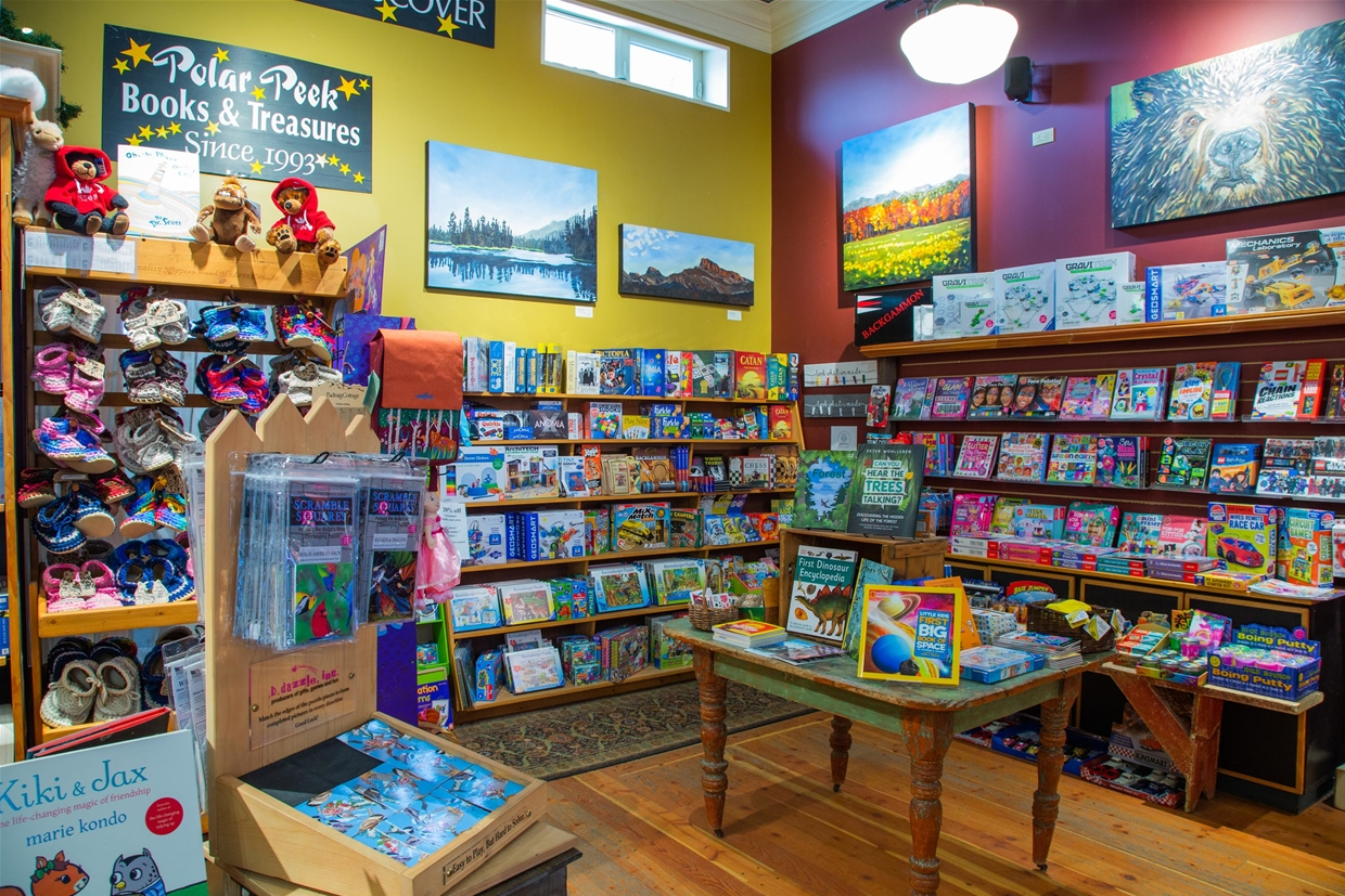 Board Games and Puzzles available at Polar Peek Books