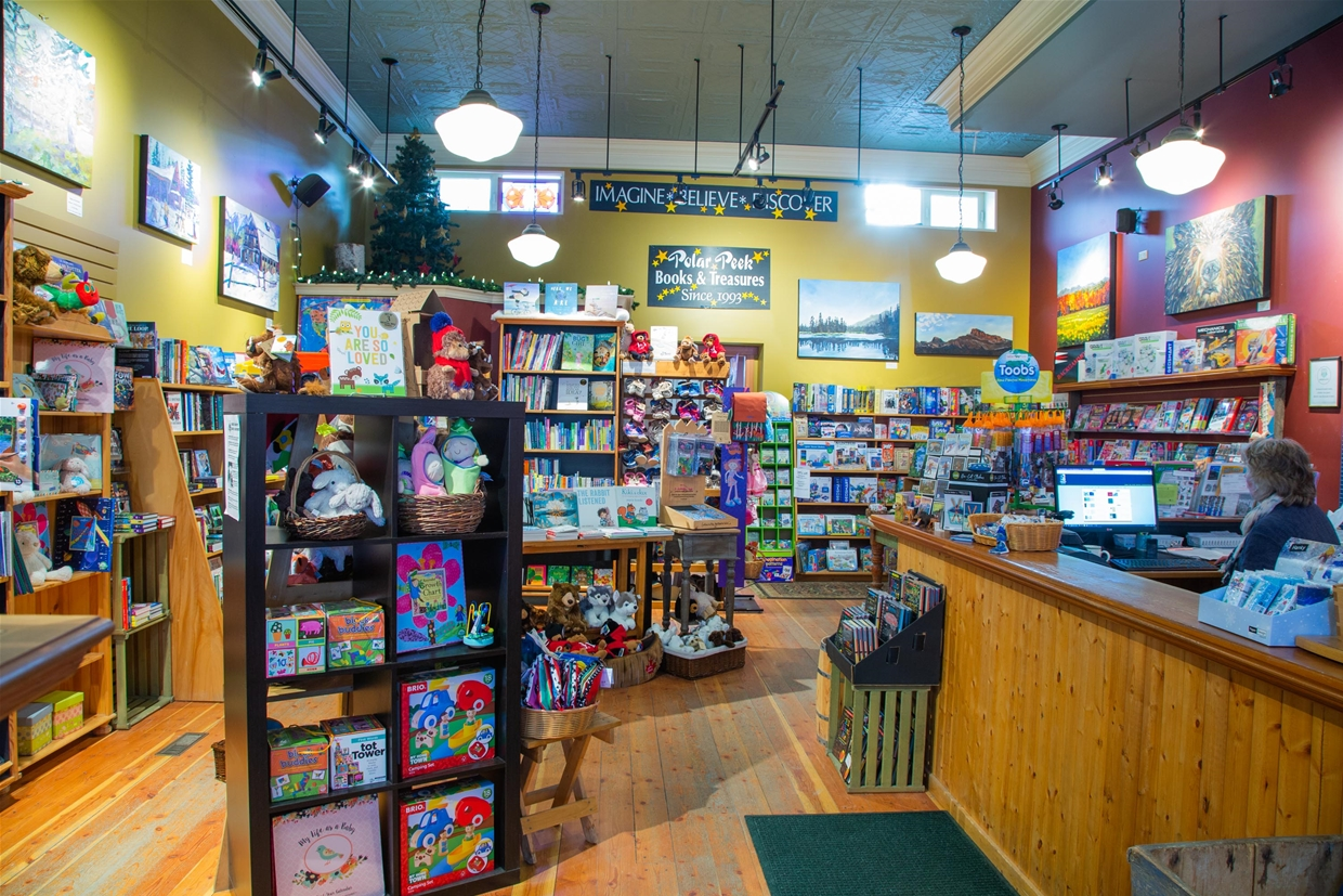 Toys and Games available at Polar Peek Books & Treasures