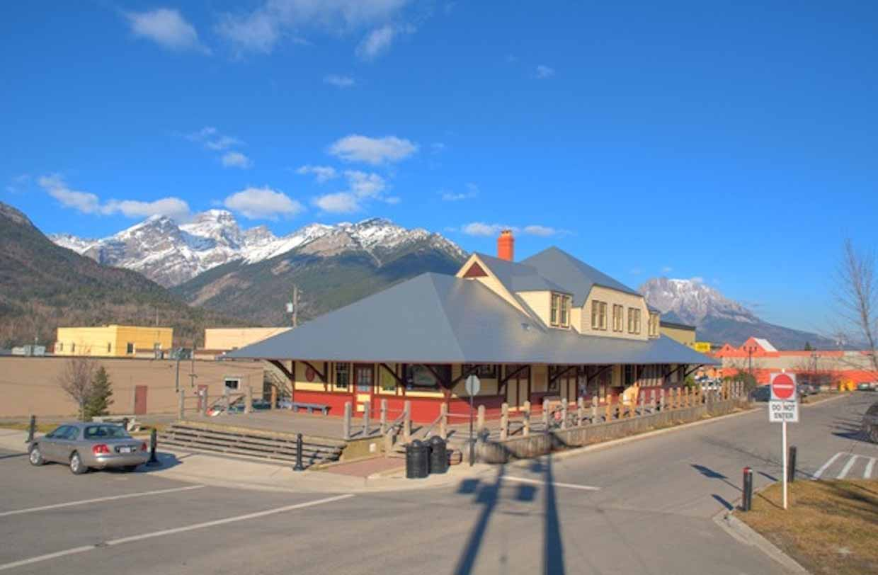 Located in the former Canadian Pacific Railway Station