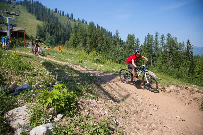 Lift Accessed Mountain Biking At Fernie Alpine Resort