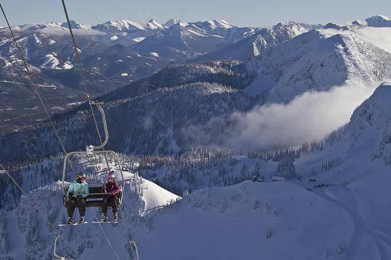 Scenic view at Fernie Alpine Resort