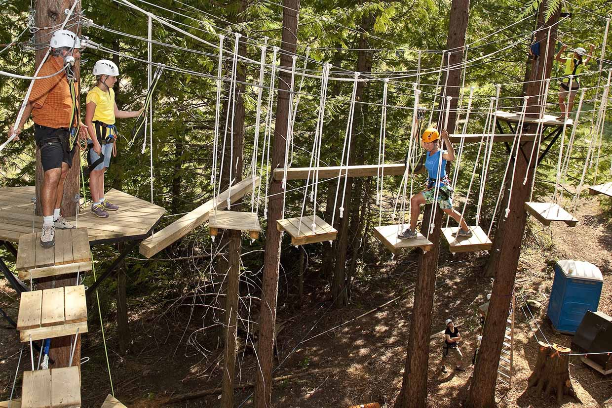 Aerial Park at Fernie Alpine Resort