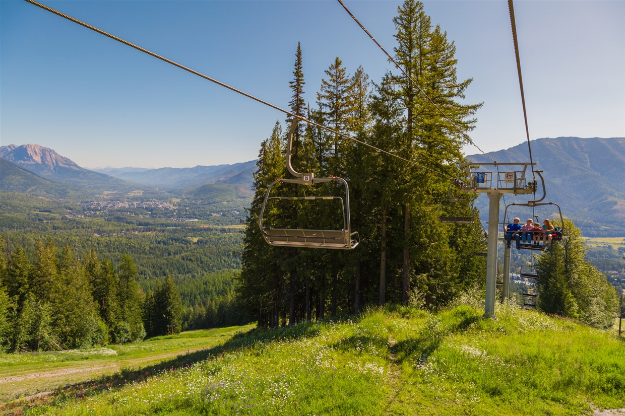 Scenic Chair Ride at Fernie Alpine Resort