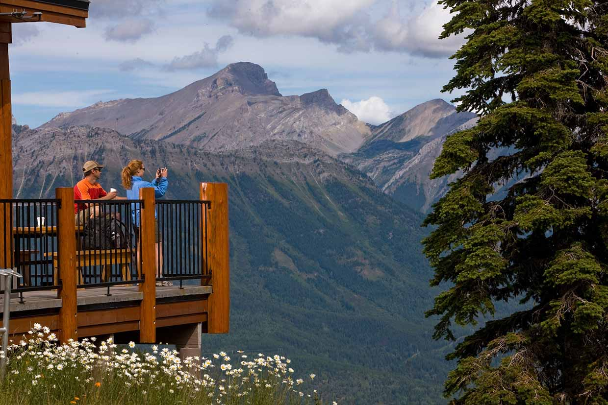 Lost Boys Cafe at Fernie Alpine Resort - Scenic Chairlift Rides & Hiking