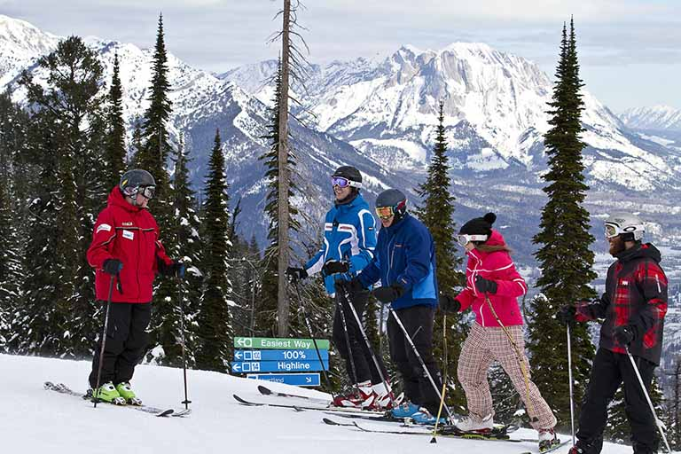 Winter Sports School at Fernie Alpine Resort
