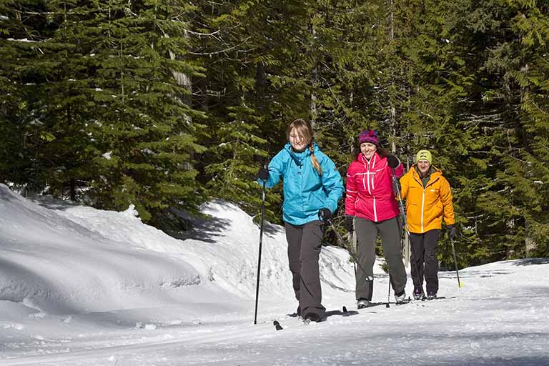 Cross Country Skiing at Fernie Alpine Resort