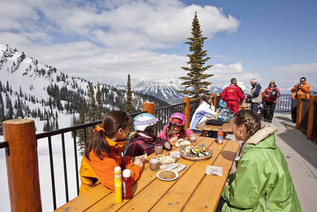 Lost Boys Cafe at Fernie Alpine Resort