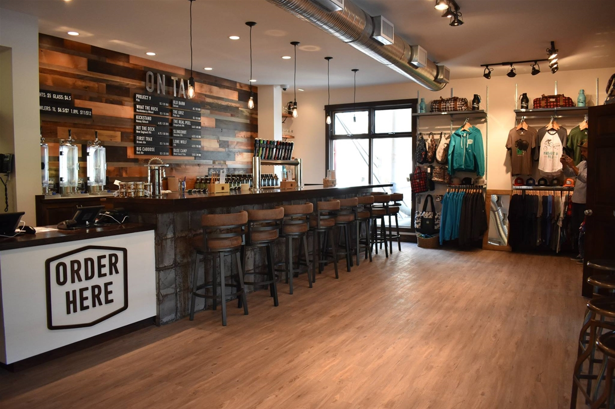 New Tasting Room and Brewery Store