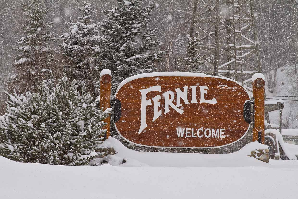 Welcome to Fernie