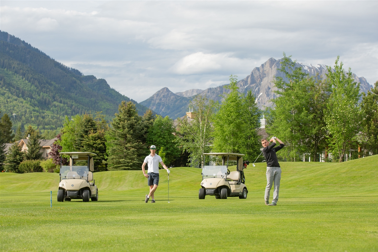 Spend the afternoon at the Fernie Golf Club