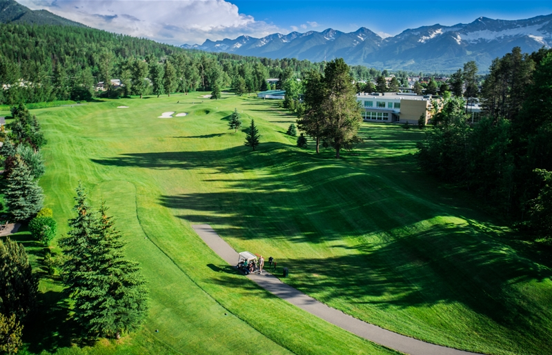 Fernie Golf & Country Club - Hole 12