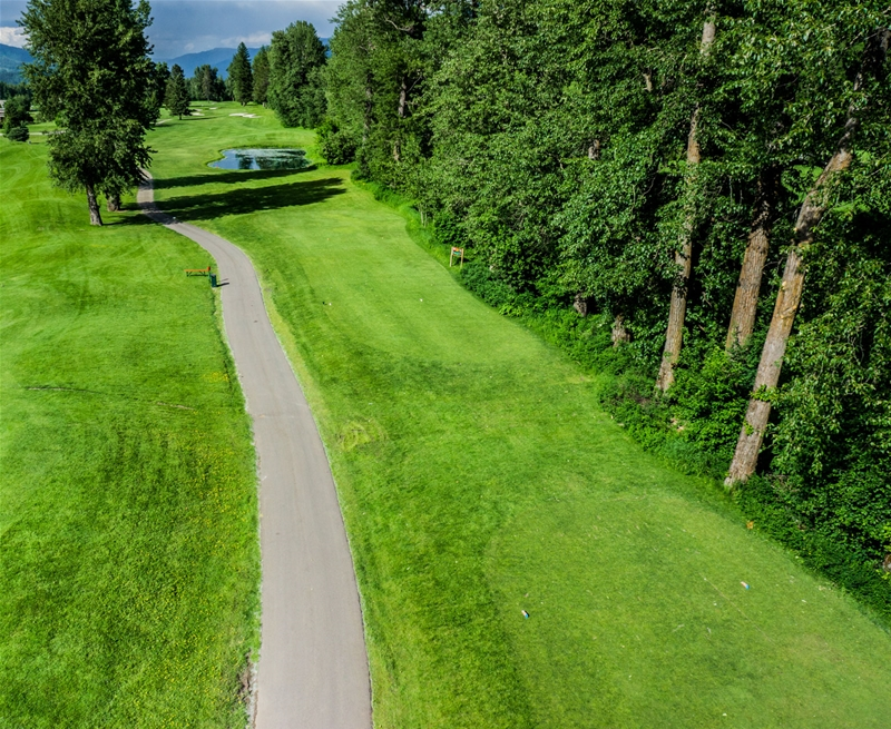 Fernie Golf & Country Club - Hole 13
