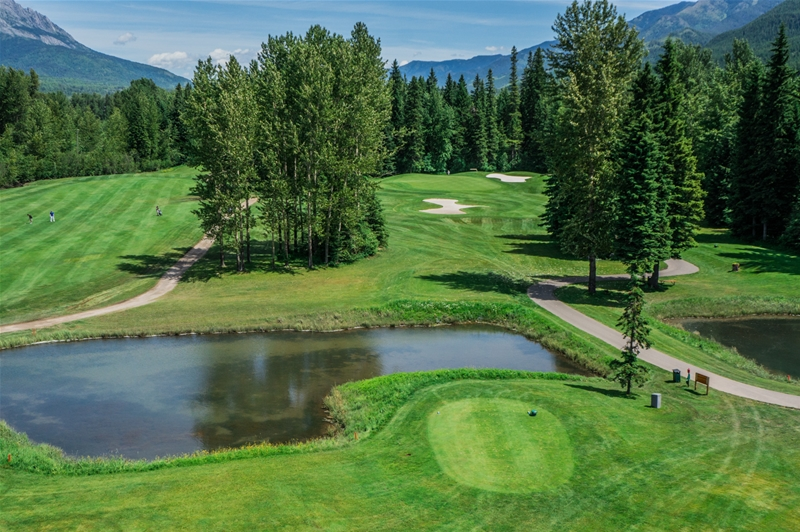 Fernie Golf & Country Club - Hole 16